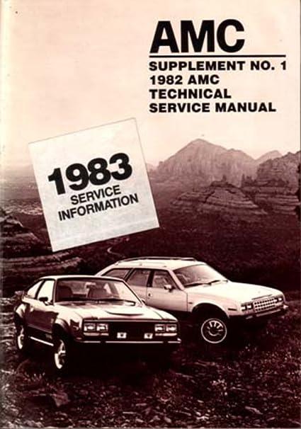 amazon com bishko automotive literature 1982 1983 amc spirit rh amazon com 1977 AMC Spirit 1980 AMC Spirit