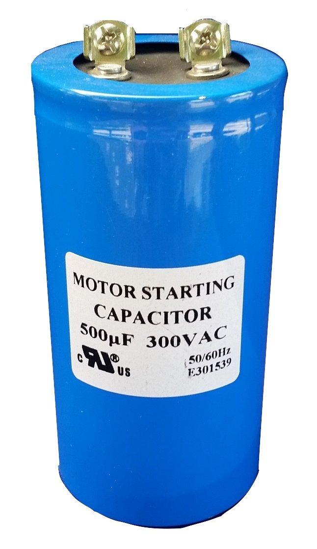 Capacitors CD60-8500 500 uf (MFD), 300VAC