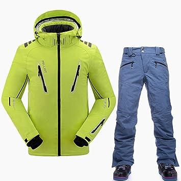 STEDMNY Traje de esquí de Calidad Hombres Chaqueta de esquí ...