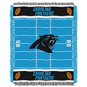 "NFL Field Bear Woven Jacquard Baby Throw, 36"" x 46"""