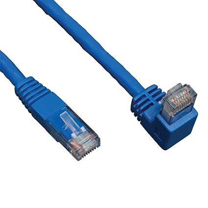 Amazon.com: Tripp Lite Cat6 Gigabit Molded Patch Cable (RJ45 Right ...