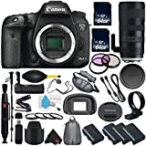 6Ave Canon EOS 7D Mark II DSLR Camera International version (No Warranty) + Tamron SP 70-200mm f/2.8 Di VC USD G2 Lens + Battery Grip Wildlife and Sports Photography Bundle