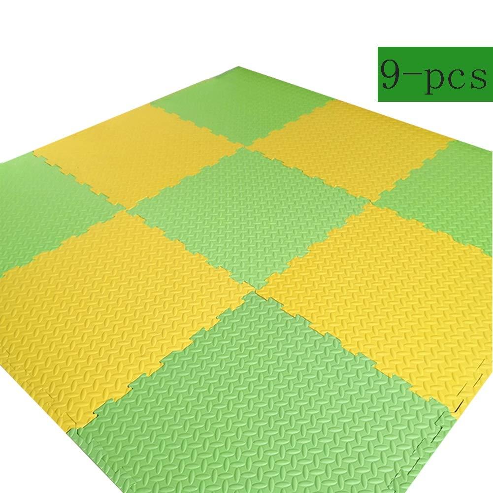 diseñador en linea G WHAIYAO Tappeto Puzzle Puzzles de Suelo Niño Niño Niño gateando Juego Colchoneta de Ejercicios Puede ser Empalmado Impermeable Antideslizante Fácil de Limpiar, 7 Colors (Color   E, Talla   10-pcs) 9-pcs  promociones
