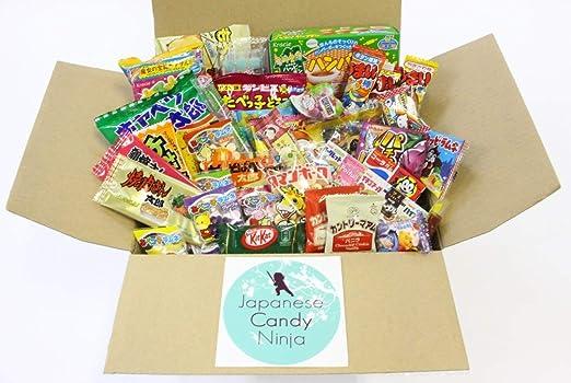 37 caramelo y Snack japonés okashi Set: Amazon.com: Grocery ...