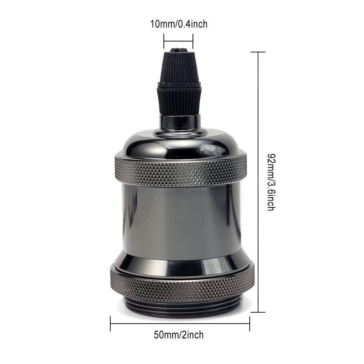 Greensun Lighting 3/Set r/étro led E27/ST64/Edison Blanc chaud Ampoule avec culot E27/douille dampoule Culot E27/Support comme d/écoration lampe suspension Suspension /Éclairage 220.0 voltsV