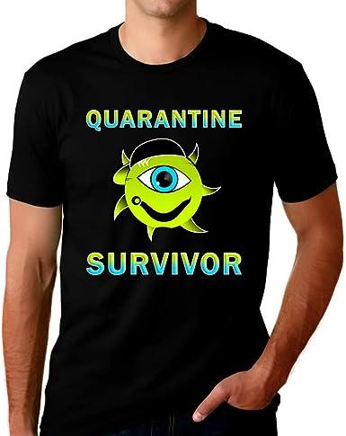 Social se Expert T-shirt quarantaine AUTO Isolation Stay Home Men/'s Top