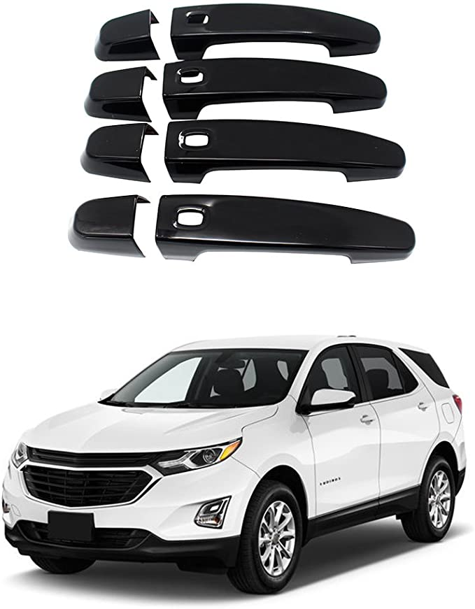 Chrome Exterior Door Handle Cover Protector Cover Trim BNHHB Car Door Handle Cover for Opel Grandland X 2017-2019 Styling Decoration Accessory