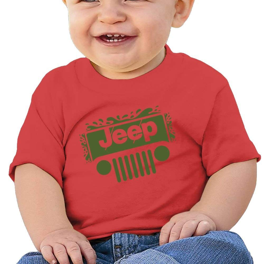 Cute Shirts Jeep Birthday Day 6-24 Months Baby Boys Kids