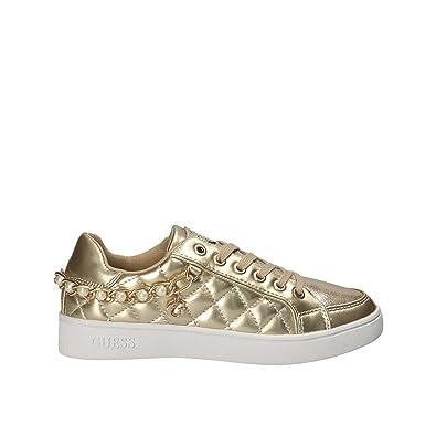 bb04f3166bd6ed Guess FLRNN2 LEL12 Sneaker Damen Gold