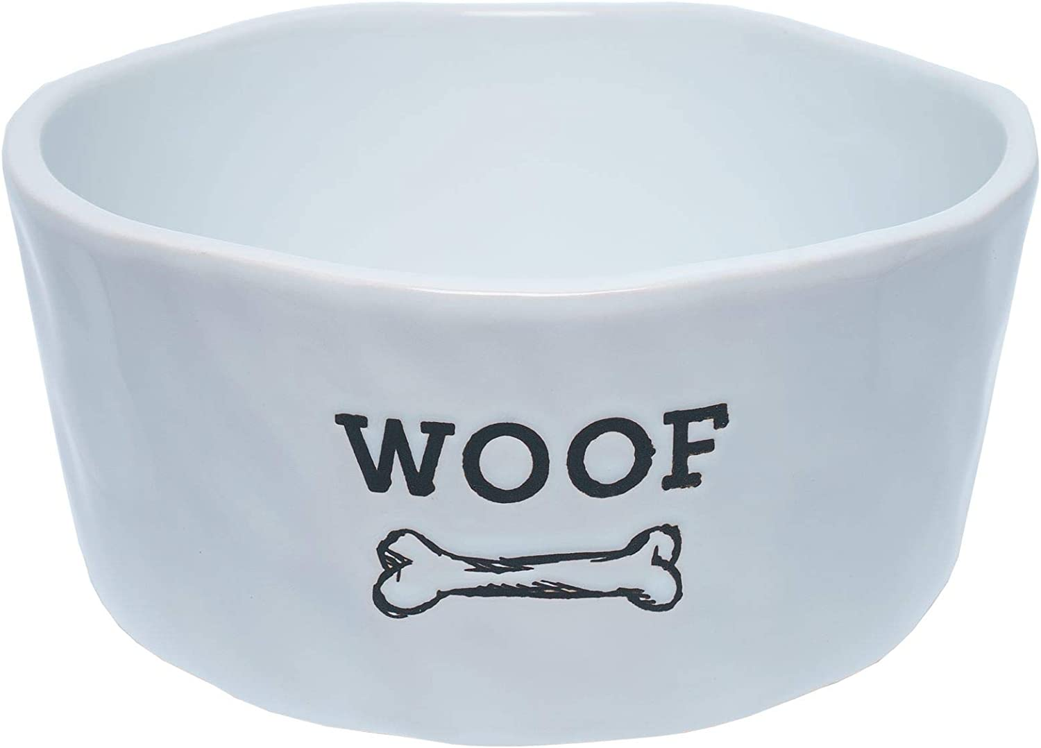 Dog Pet Ceramic Bowls and Durable Ceramic Food Bowls | Great for Wet Food, Dry Food, and Water