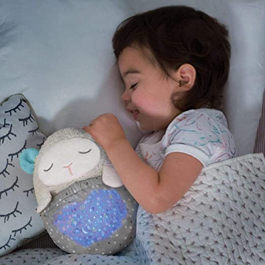 Skip Hop Moonlight-and-Melodies Hug Me Projection Nightime Soother, Lamb