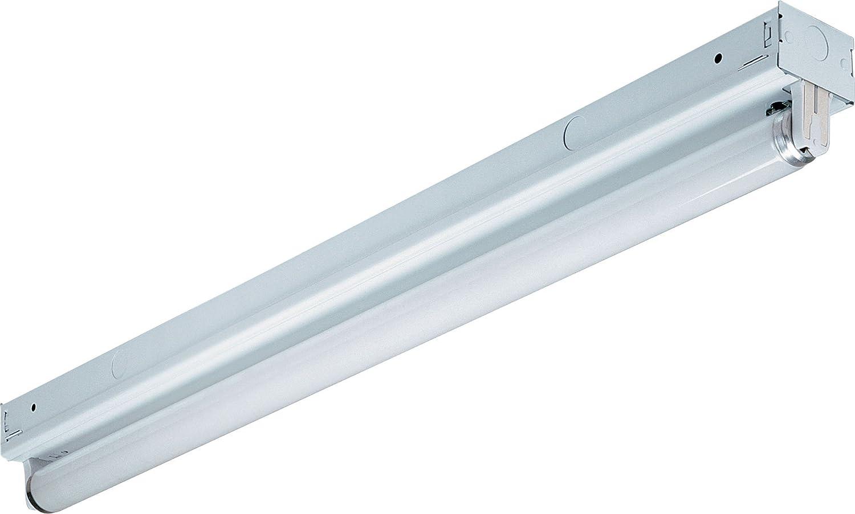 Lithonia S1321201-2RE, Strip Lights Glass Flush Mount Lighting, 1 ...
