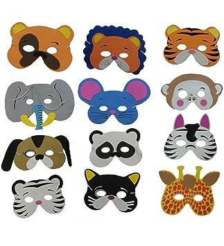 Máscara Animal Espuma - Colección De linda espuma Máscaras de Animales