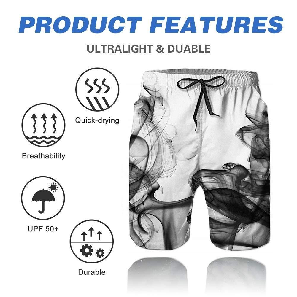 Fanient Pantaloncini da Bagno da Uomo 3D Stampa Pantaloncini da Bagno grafici Pantaloncini da Spiaggia Quick Dry Pantaloncini da Bagno Trunks per Il Tempo Libero con Tasca