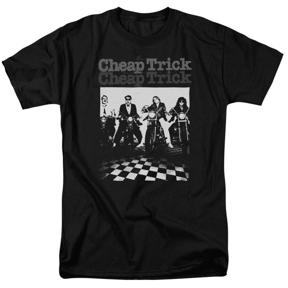 Cheap Trick Cheap Trick Bikes Adult Regular Fit T-Shirt