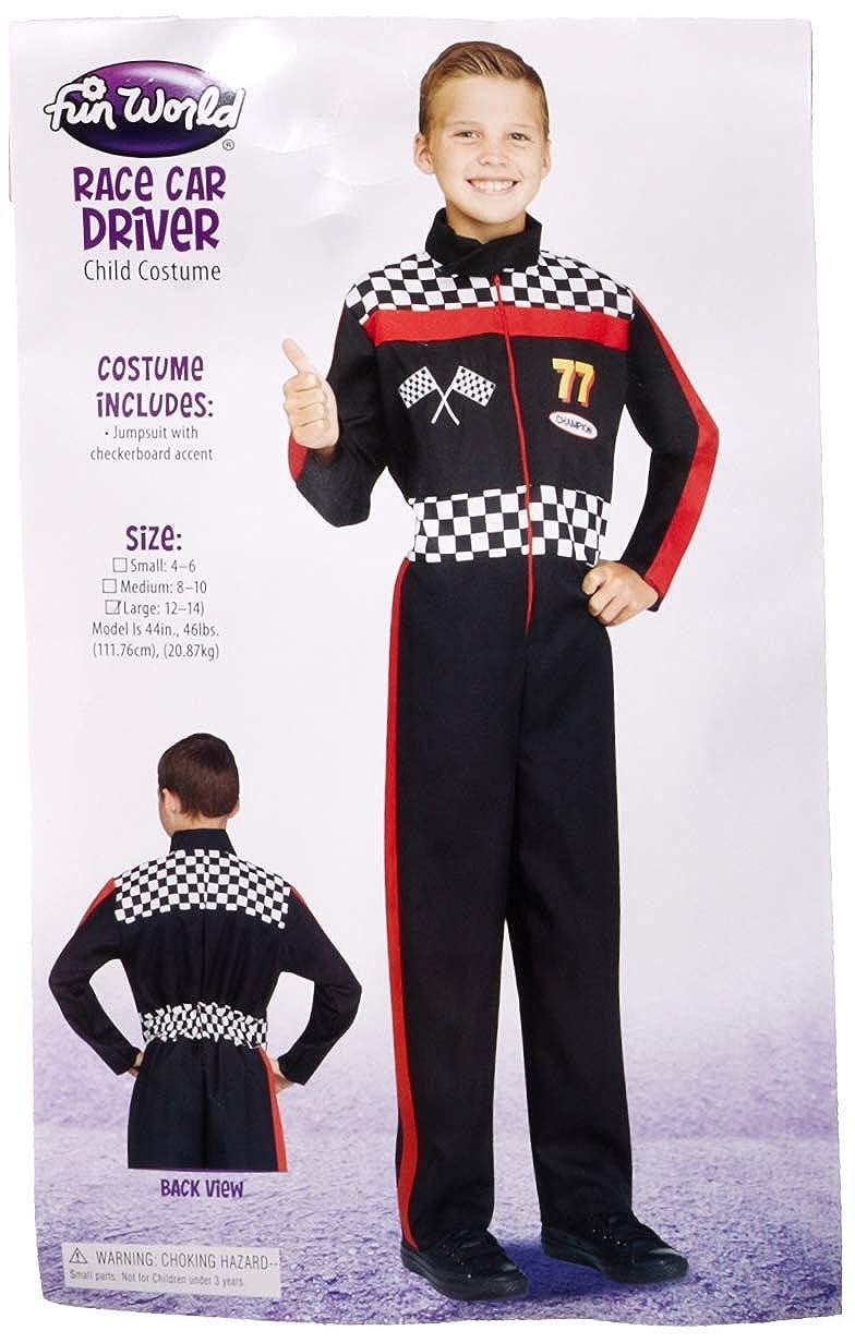 Amazon Com Fun World Race Car Driver Child Costume Toys Games