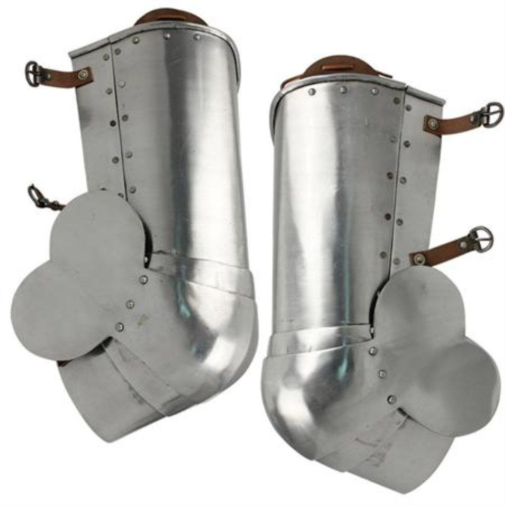 Medieval Italian 15th Century Poleyns Leg Armors