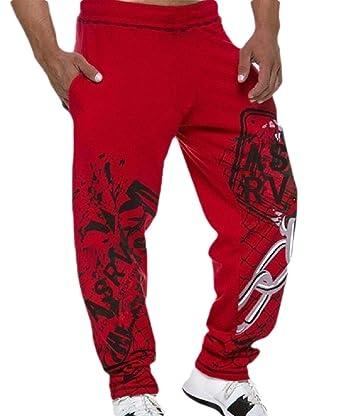 Pantalones de chándal de Seguridad para Hombre, con Estampado de ...