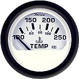 "Faria Marine Universal Temperature Sender 1//2/"" NPT Single Standard F90404"