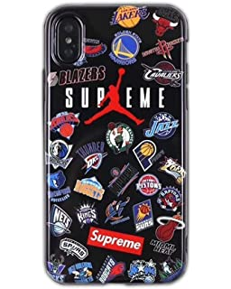 65dd10fcce8e1 Amazon.com: Supreme Air Jordan Jumpman Box Logo Mobile Phone Case ...