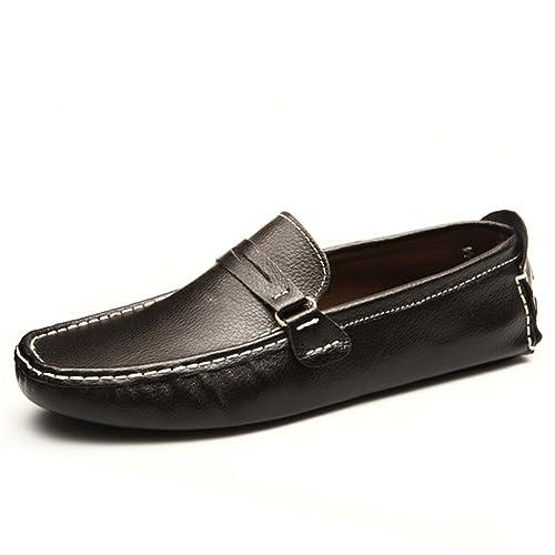 Zapatos para Hombres Cuero Primavera Otoño Verano Otoño Comfort Mocasines y Slip-Ons Zapatos de