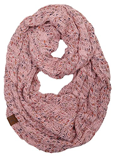 (S1-6033-71 Funky Junque Infinity Scarf - Indi Pink (Confetti))
