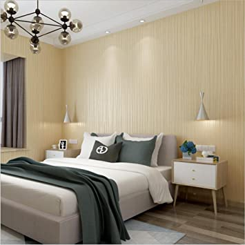 Tapete Vlies Modern Einfach Textur 3D Einfarbig Wasserdicht Tapete  Dekoration Schlafzimmer TV Wand Wohnzimmer Tapete