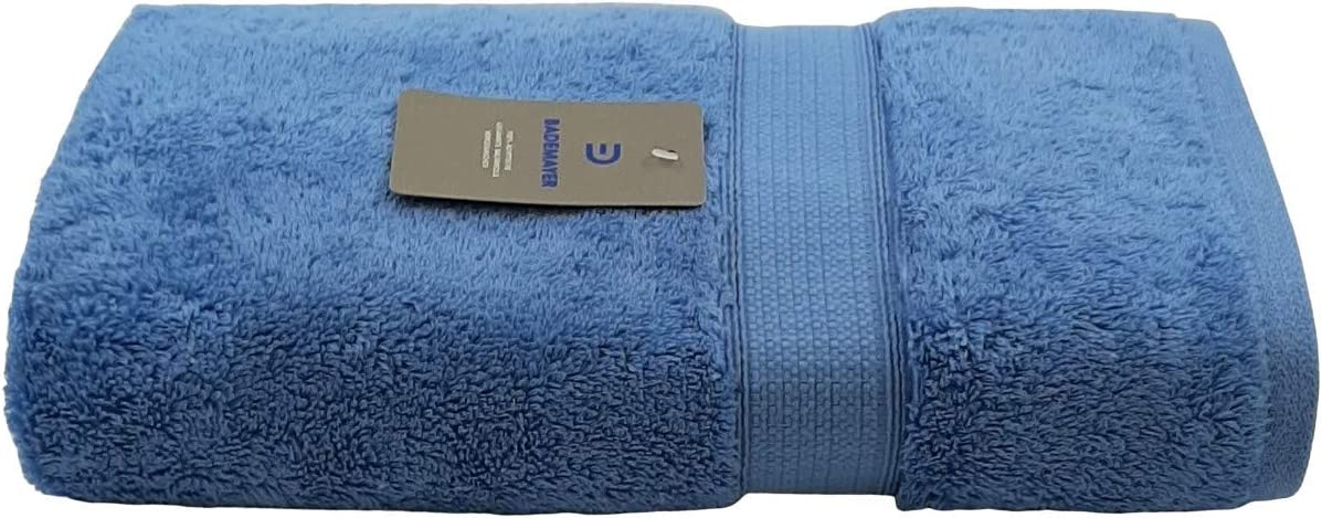 Hellblau Bademayer 4er Fusselfreies Frottier Handtuch-Set aus 100/% /Ägyptischer Gek/ämmter Baumwolle Premium Qualit/ät 600g//m/²