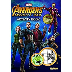 Avengers Infinity War - Activity Book