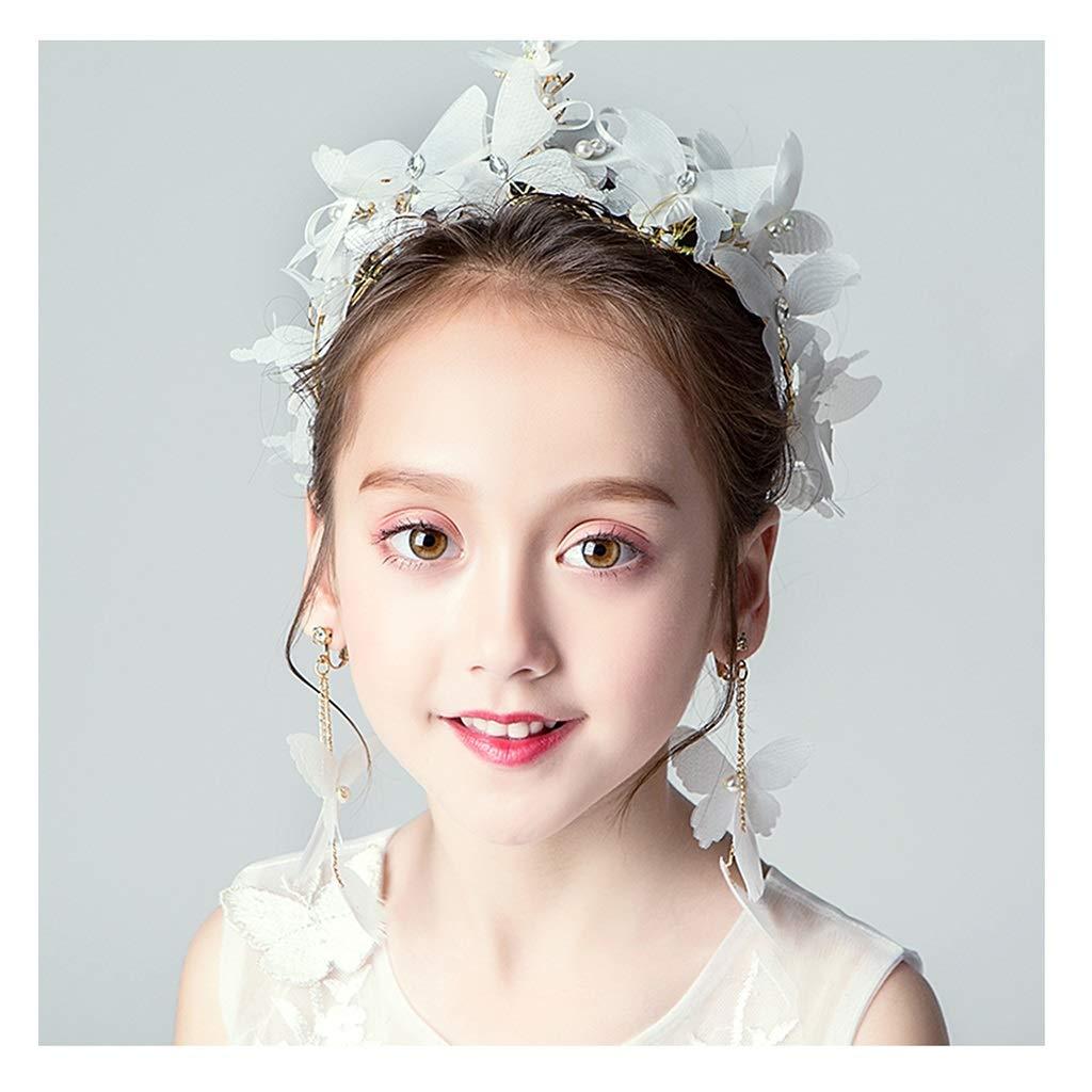 Wreath Flower Wedding Flower Girl Wedding Flower Head Children's Performance Hairpin Headband Hair Accessories
