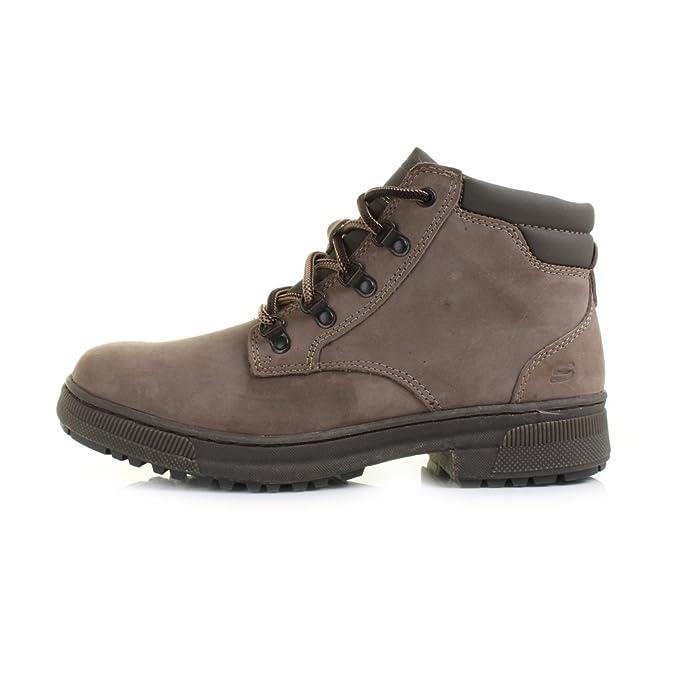 Birkenstock Arizona xzz/botas para mujer primavera/verano/otoño/winterheels/Gladiador/básico bomba/zapatos y bolsas de a juego/novedad Skechers Denton Romolo Botas de Cuero para hombre/Zapatos-Taupe-43 y0n80YDf7v