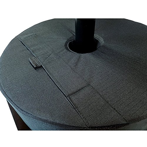 18'' Round Umbrella Base Weight Bag - Up to 85#. Safety solution for Patio, Offset and Cantilever Umbrellas. Canopy Patio Beach Round Umbrella, tent Base Weightbag, Weather and UV resistant #81473 by Beststar (Image #4)