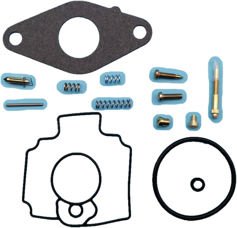 Tuzliufi Replace Carb Carburetor Rebuild Repair Kit John Deere Lawn Mower Tractor 345 425 445 FD620D FD620 Engine MIA11386 MIA12362 AM118872 New Z264