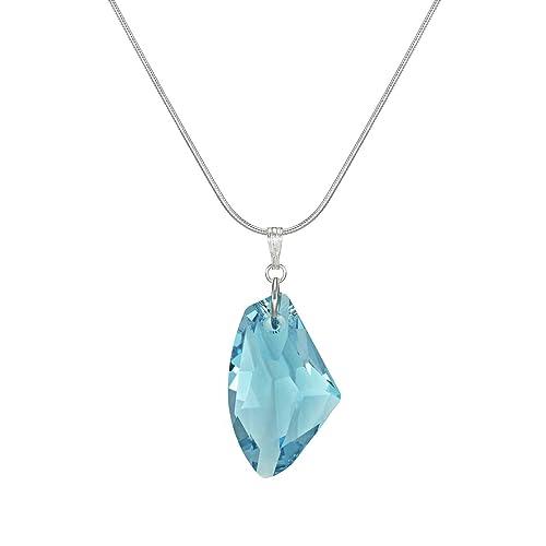 Aquamarine Necklace Aquamarine Pendant Large Aquamarine Necklace turquoise stone