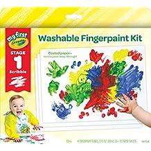 Crayola My First Fingerpaint Kit Finger Paints
