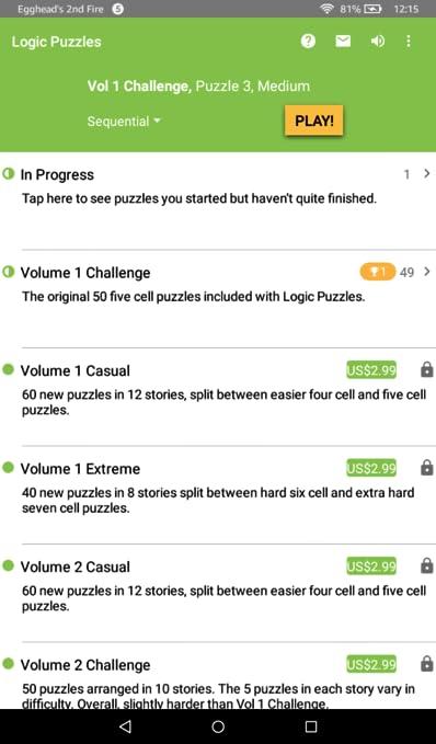 Logic Puzzles - Mind Teaser Grid Game
