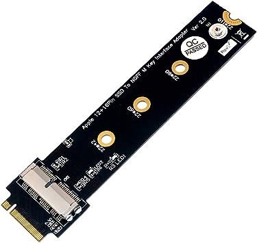 Domilay Tarjeta Adaptadora PCIe SSD a M.2 Key M para el ...