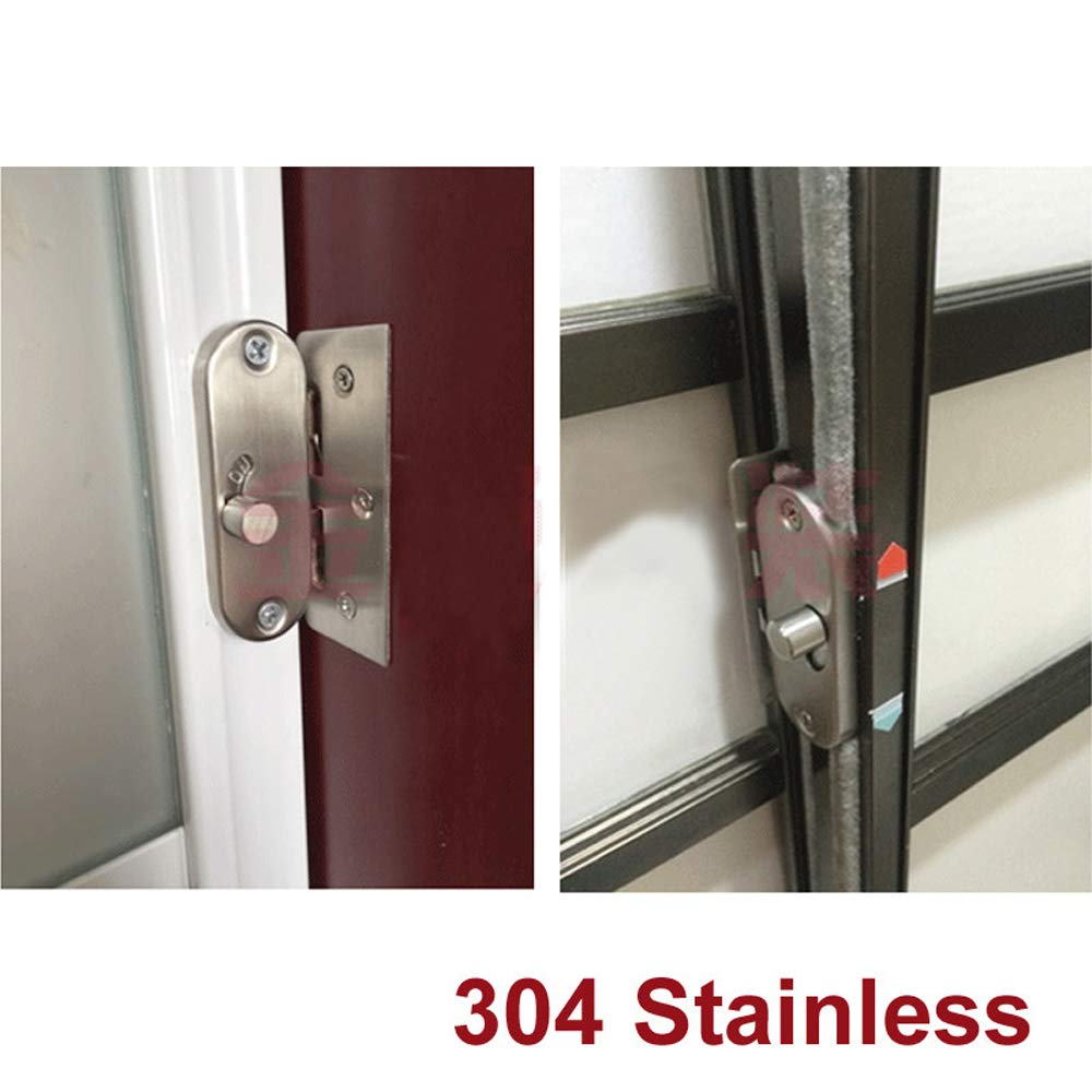 hardware locking bolts home accessories xing 304 stainless steel 90 degree right angle buckle hook lock bolts for sliding doors
