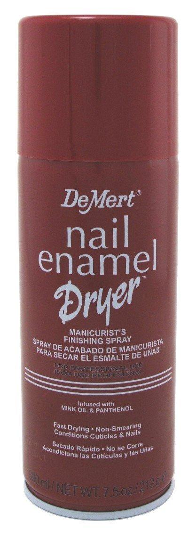 Demert Nail Enamel Dryer Spray 7.5 Ounce (221ml) (6 Pack) by Demert