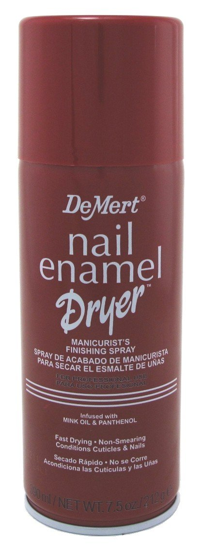 Demert Nail Enamel Dryer Spray 7.5 Ounce (221ml) (6 Pack)