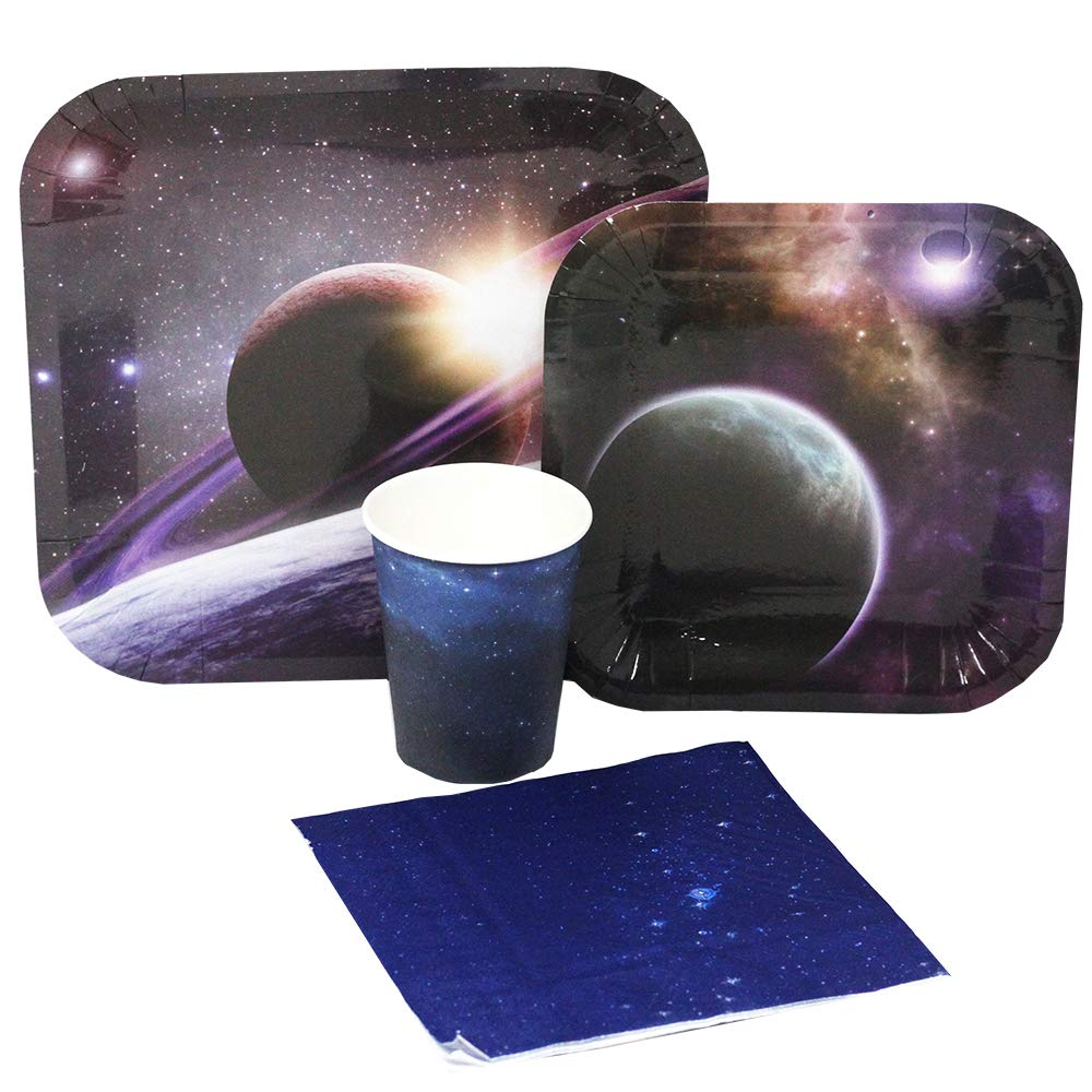 Blue Orchards Space Party Standard Party Packs (65+ Pieces 16 Guests!), Space Birthdays, Space Decorations, Science Parties