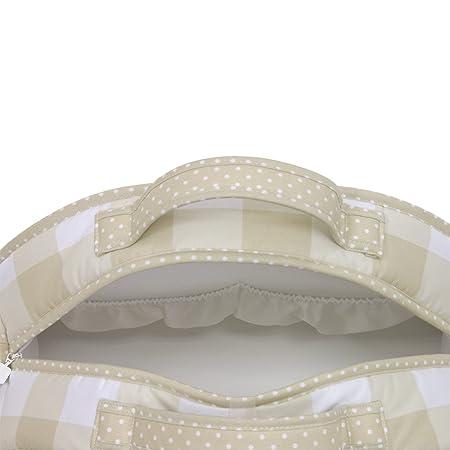 Amazon.com : Cambrass Changing Bag Luna (19 x 45 x 33 cm, Bebe Beige) : Baby