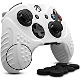 CHINFAI Xbox One/ Xbox One S Controller Silicone Skin Case Anti-slip Protective Grip Cover for Xbox 1 with Thumbstick…