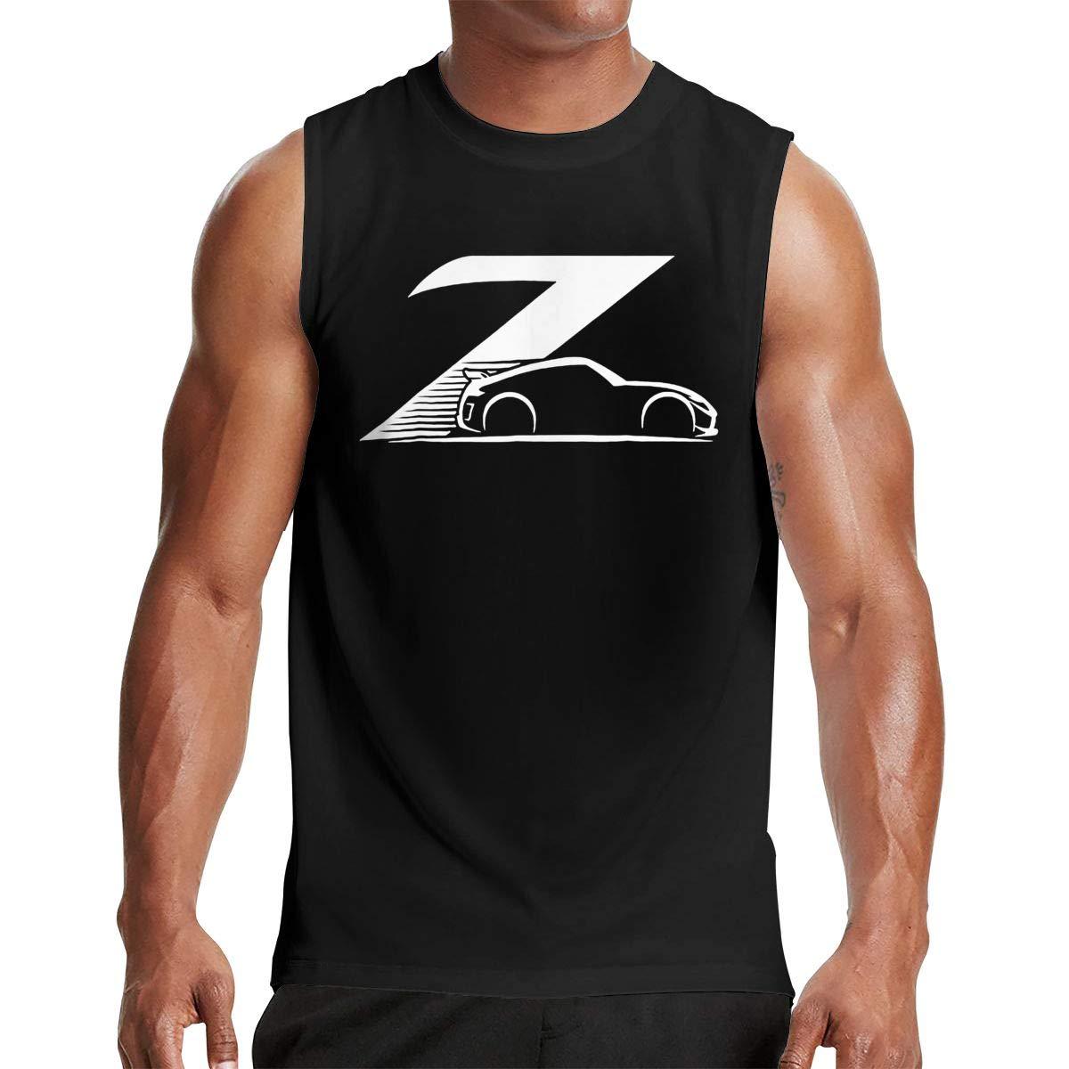 Thomlarryca 370z Custom S Gym Muscle T Shirt Classic Athletic Sleeveless T Shirts Blac