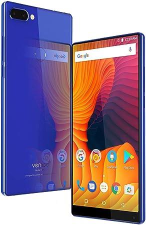 Vernee Mix 2 Teléfono móvil de 6 Pulgadas FHD + 2160 * 1080 Pixels Helio P25 Desbloqueo de Huellas Dactilares de Octa-Core 4GB RAM 64GB ROM 13MP + 5MP Cámaras duales +