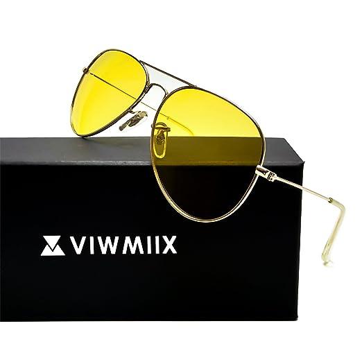 a4ca3aeef27a8 HD Night Vision Glasses for Driving Photochromic Polarized Anti-glare 100%  UV400 Aviator Sunglasses