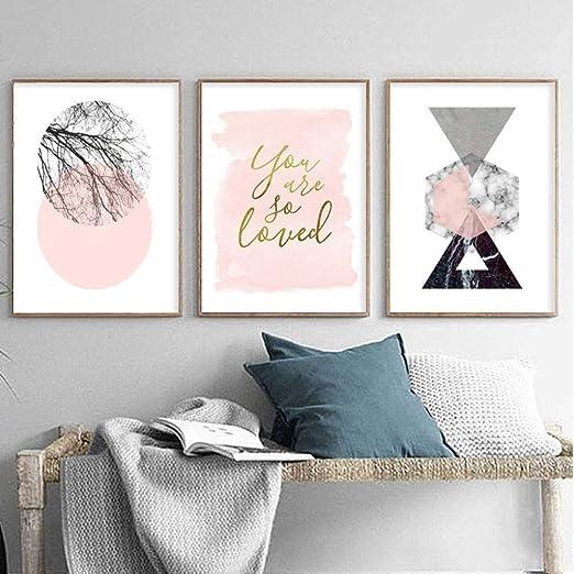 Posters & Prints Home & Garden LEINWAND BILDER Geometrisch ...