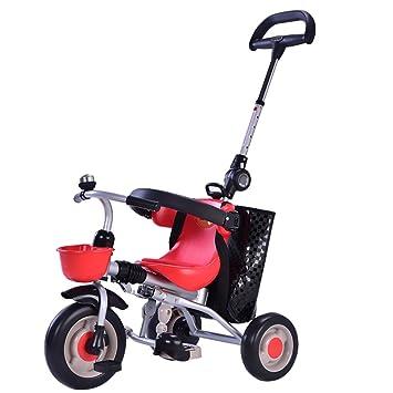 Cochecito de bebé triciclo infantil bicicleta plegable para niños bicicleta para bebés niños y niñas 1
