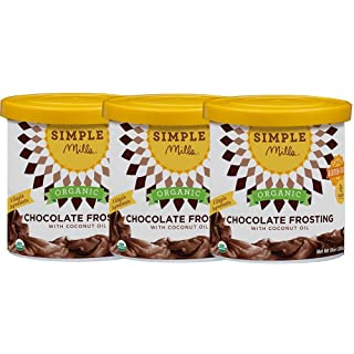 Simple Mills Frosting, Chocolate, 10 oz, 3 count (PACKAGING MAY VARY)