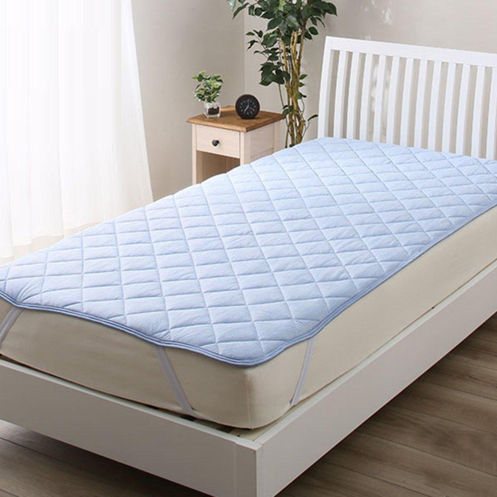 bluee 180x200cm(71x79inch) LJ&XJ Thin Tatami Mattress, Soft Comfortable Summer Cool Mattress Topper, Bedroom Mattress Predection pad-bluee 180x200cm(71x79inch)